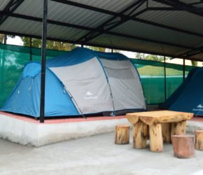 Kodai Vel Farms Resort Kodaikanal - Thandikudi - Wood House Resort and Cottages - Tent House